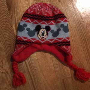 Other - Mickey Mouse fleeced lined winter hat